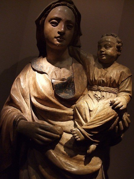Madonna and Child by brotheroutsider