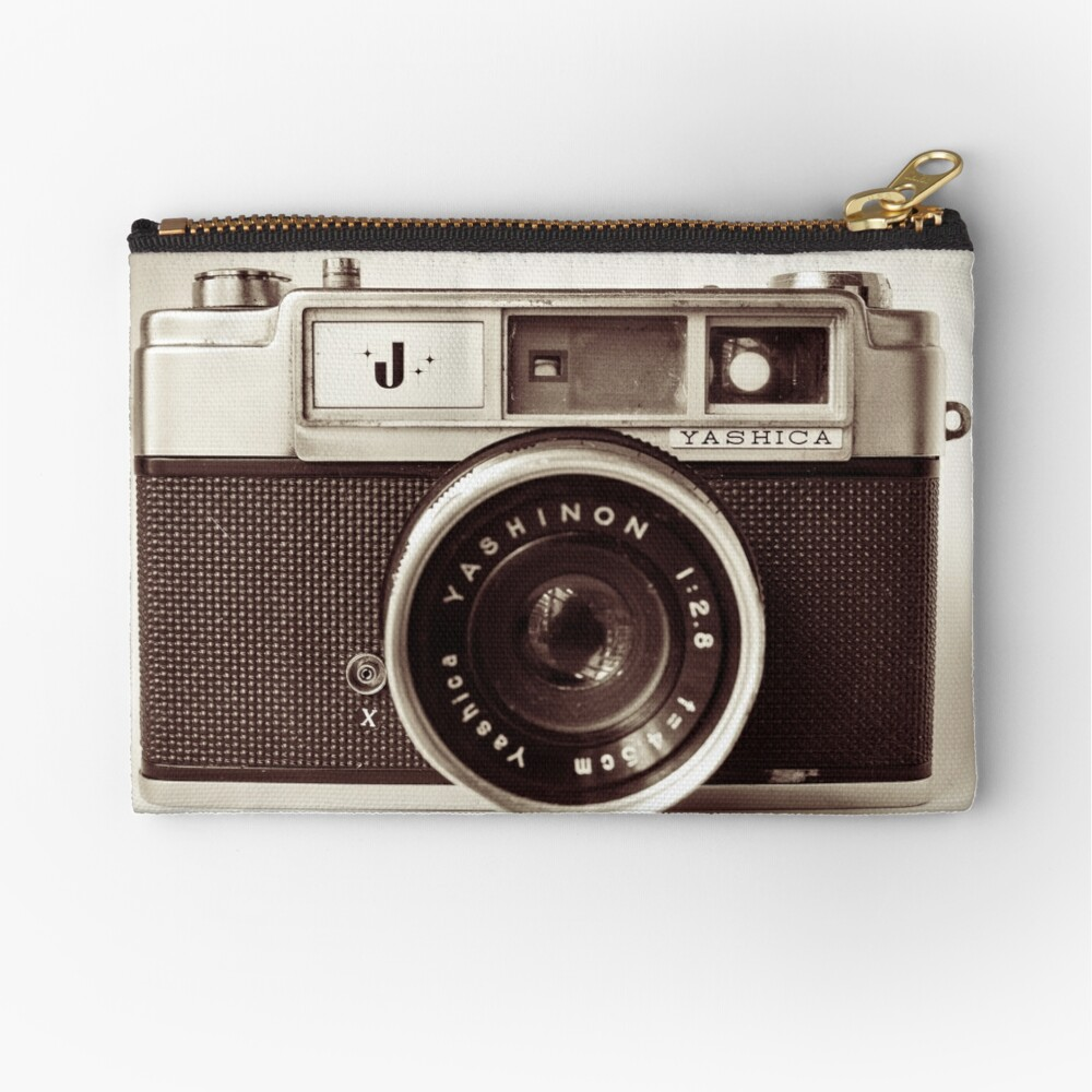 Camera Retro  Zipper Pouch