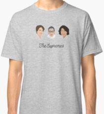 The Supremes (3, with eyes, white text) Classic T-Shirt