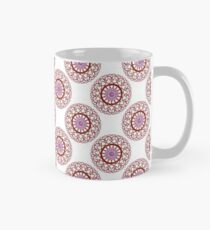 Red Wire Lace Classic Mug