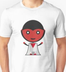 red scary halloween Unisex T-Shirt