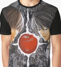 light yagami and L death note Graphic T-Shirt