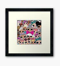 LOL Surprise Dolls Birthday Party Family Framed Print