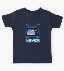 Retro TV - Better Late Than Never Videogames Kids Tee