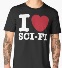 I Heart Sci-Fi Men's Premium T-Shirt