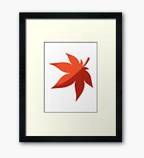 MapleStory Maple Leaf Framed Print