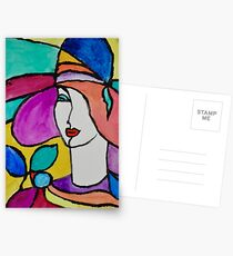 Stylish Fashion Postcards