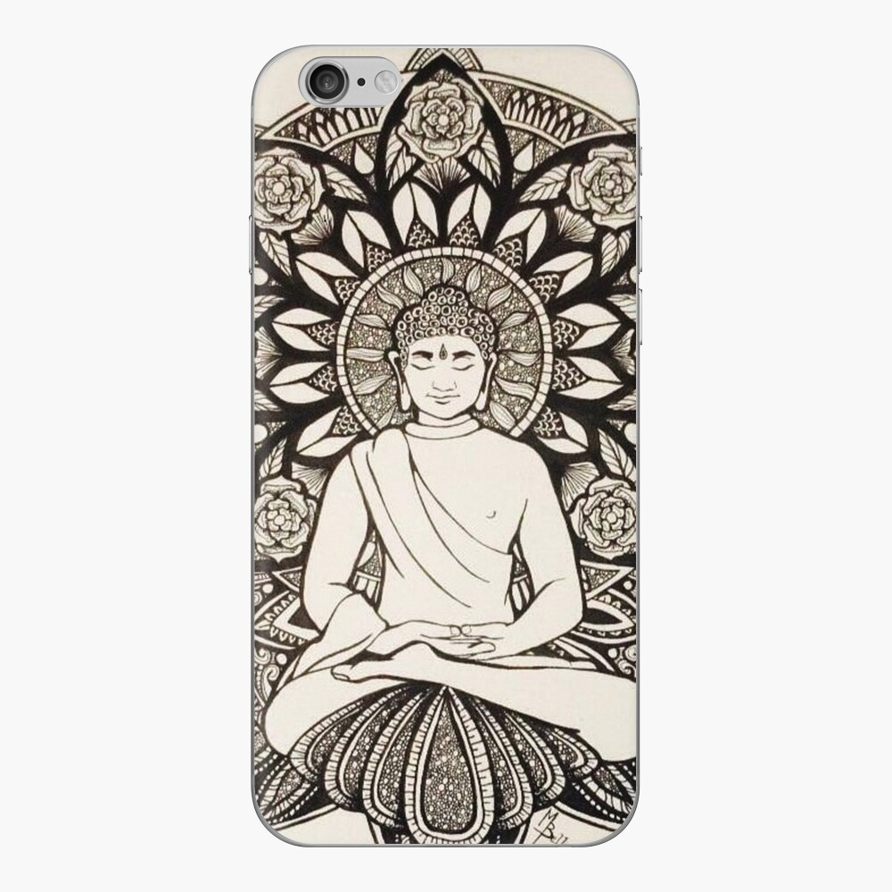The Peaceful Buddha iPhone Cases & Covers