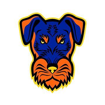 Jagdterrier Front Mascot by patrimonio