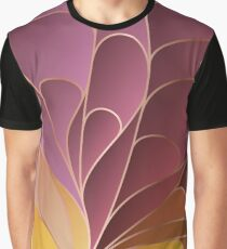 Modern Colorful Abstract Art Graphic T-Shirt