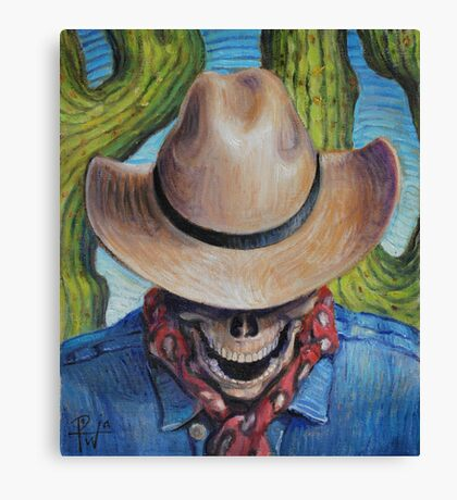 Goodbye Cowboy Canvas Print