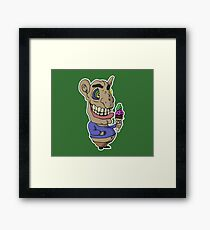Ice-cream Goblin Framed Print