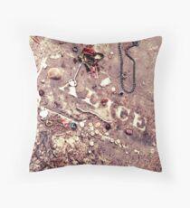 Alice Flagg - Murrells Inlet, SC, USA Throw Pillow