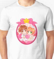 Camiseta clásica Card Captor. Camiseta unisex Syaoran and Sakura 7c878f0e0d05