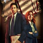 « The X-Files comic book cover- Florida Man #1 » par Chimerart