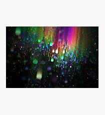 Rainbow drops Photographic Print