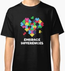 Embrace Differences Classic T-Shirt