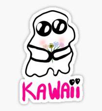 Kawaii  Ghost Sticker