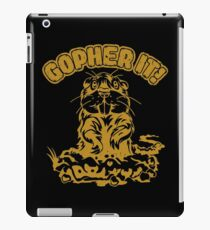 Gopher it iPad Case/Skin