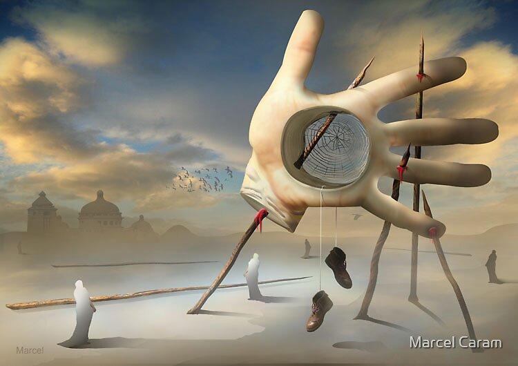 As Farpas e a Mão. by Marcel Caram