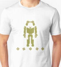 Toys for children: robot, remote control, cubes. Unisex T-Shirt