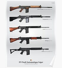 FN FAL - Right Arm of the Free World Poster