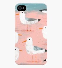 Seagulls on the Shore iPhone 4s/4 Case