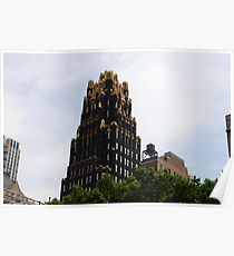 American Standard Building - NYC Poster