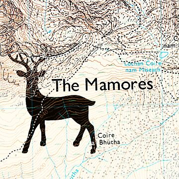 The stag on the map by anni103