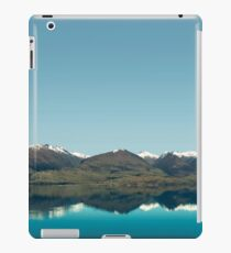 Blue Reflections of mountains iPad Case/Skin