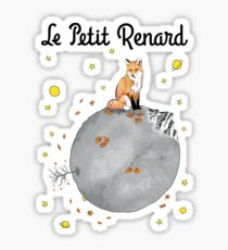Le Petit Renard Sticker