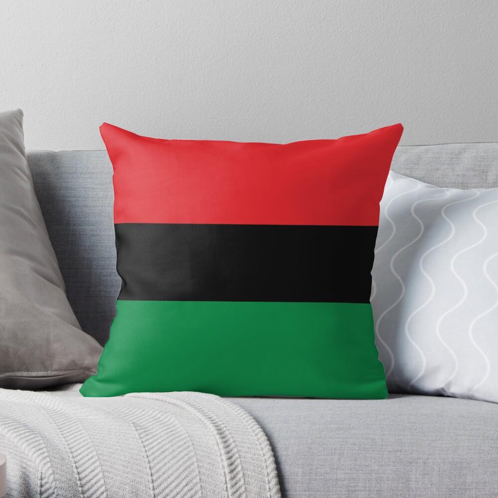 Pan African Flag Bettbezug Dekokissen