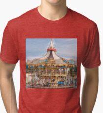 color carousel  Tri-blend T-Shirt