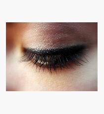 Eyelashes Photographic Print