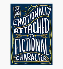 Emotionally Attached To Fictional Characters - Furry Fandom Gift Fotodruck