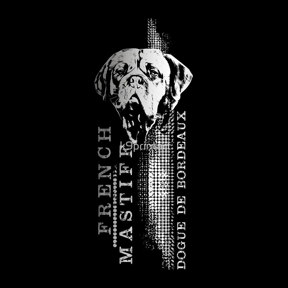 Dogue de Bordeaux - French Mastiff by k9printart