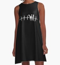 Funny Cheerleading Gift A-Line Dress