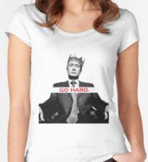 Hard Like Vladmir Putin Women's Fitted Scoop T-Shirt
