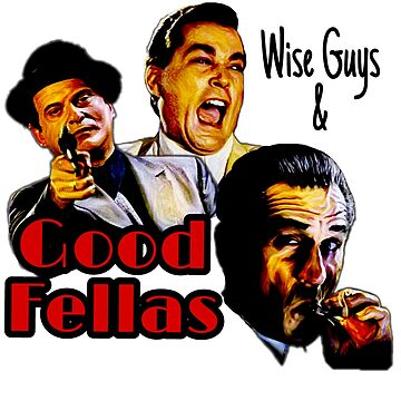 Goodfellas Wiseguys Gangster Mafia Mobster American Movie Painting by xsdni999