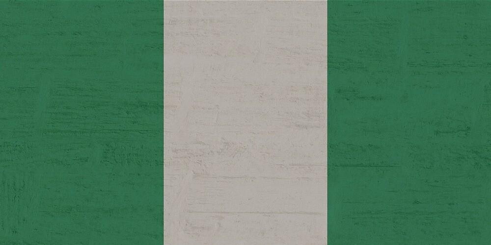 Nigeria Stone Wall Flag by PRODUCTPICS