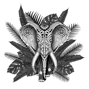 Elephant tribal maori by Efembe