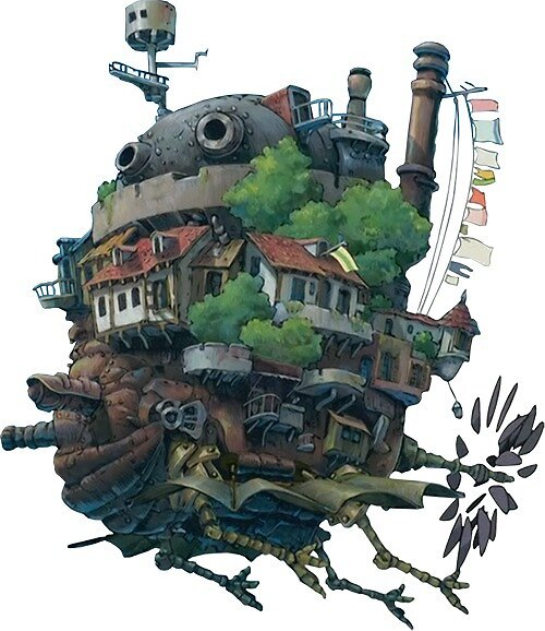 Howl's Moving Castle by tiffanyisweird