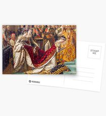 Crowning of the Empress Josephine Postcards