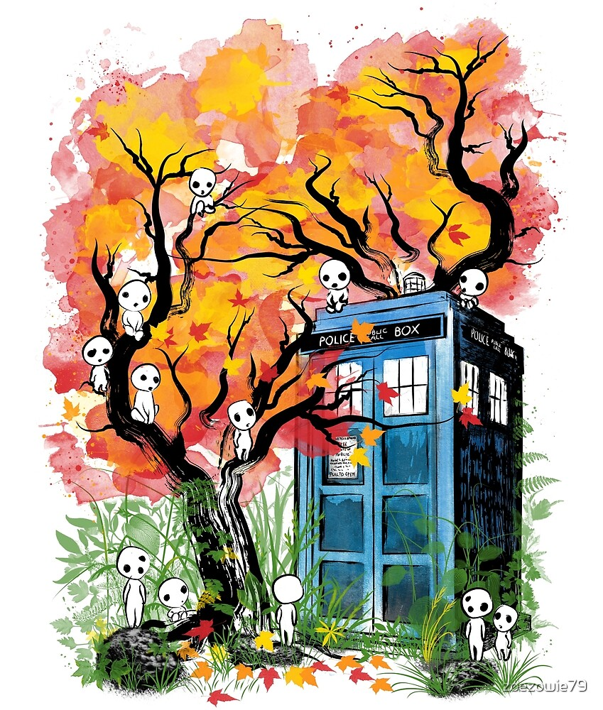 The Doctor in the Forest by zoezowie79
