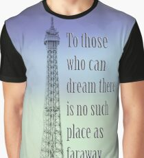 Follow Your Dream Graphic T-Shirt