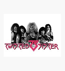 Twisted Sister Photographic Print