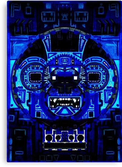 Blue Monkey by Chipchaman