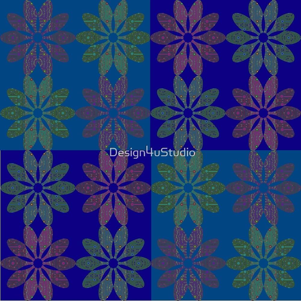 Flower Pattern3 by Design4uStudio