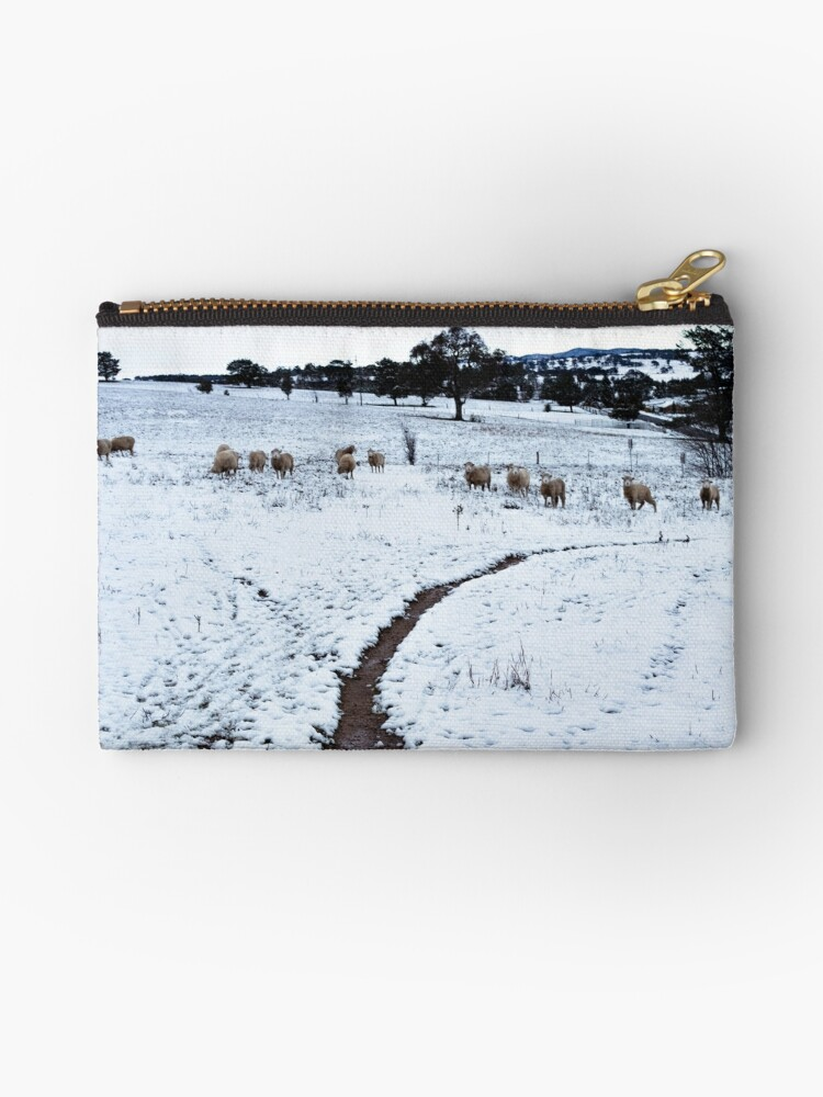 Sheep in the snow by Willscape