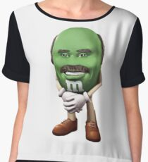 Dr Phil M&M Chiffon Top
